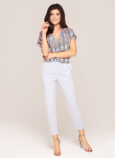 blouse Hebe|trousers 7/8 Gaja