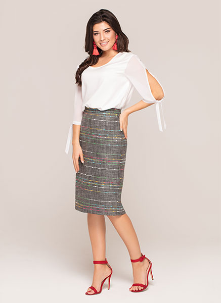 blouse Meryl|skirt Evi